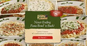 Olive Garden Never Ending Pasta Bowl Is Back - olive garden never ending pasta bowl 8 95 happy money saver