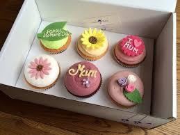 Mothers Day Food Gifts Mother U0027s Day 2017 Cupcake Gift Box Cuckoo U0027s Bakery Edinburgh U0027s
