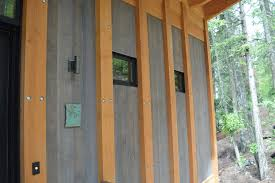 architecture dark wood shiplap siding for waterfront house with
