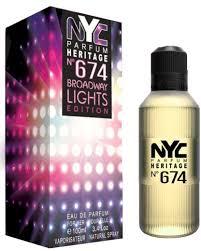 Parfum Nyc nu parfums nyc parfum heritage n盧 674 broadway lights edition
