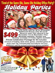 office party flyer holiday parties