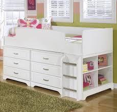 twin loft bed w loft drawer storage by signature design by ashley