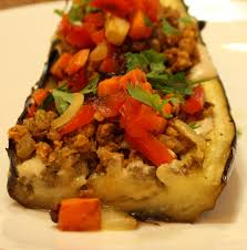 stuffed eggplant that makes your middle eastern dreams come true