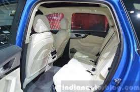 how many seater is audi q7 audi q7 e rear seat at 2015 geneva motor indian autos