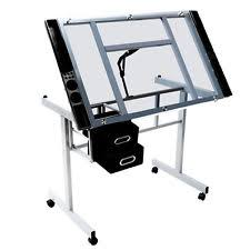 Drafting Table Set Drafting Table Set Stool Storage Drawers Purple Drawing Desk