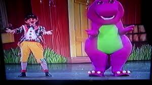 barney live in new york city everyone is special and curtan