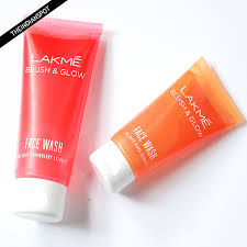 and glow lakme blush and glow wash and strawberry review