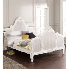 versailles louis xv rattan antique french bed