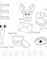 pictures for letter e english for kids worksheet worksheet