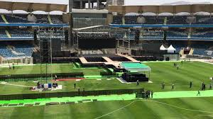 300 Square Meters Building Bieber Behind The Scenes Of The 4 Million Concert That