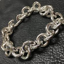 sterling silver charm link bracelet images Chunky sterling silver link bracelet with shy fox gem lapis charm jpg