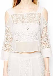 white lace blouses white plain hollow out half sleeve lace blouse blouses tops