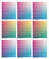 sample css color chart the unofficial paper source color guide