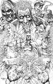 batman joker coloring pages free printable squad coloring pages for adults comic