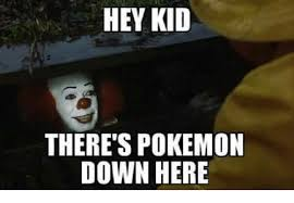 Pokemon Kid Meme - hey kid there s pokemon down here meme on me me