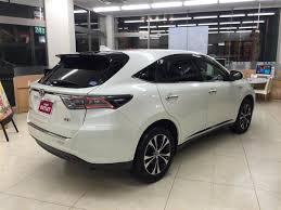 lexus harrier 2012 2016 toyota harrier hybrid premium advanced style mauve used car