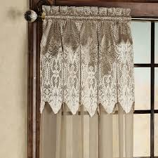interior beautiful macrame lace white curtain macrame curtains