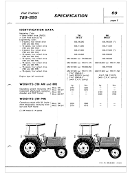 fiat 780 880 u0026 dt workshop manual