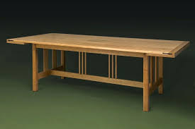 dining table stakmore mission style extendable dining table