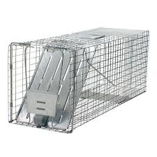 havahart large 1 door live animal cage trap 1079 the home depot