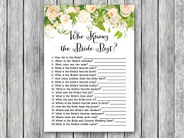 who knows the best wedding shower printable bridal shower