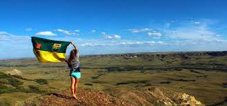 Saskatchewan Flag Are You The Next Saskatchewanderer Kenton De Jong Travel