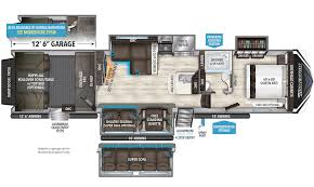 momentum toy hauler floorplans grand design momentum 394m