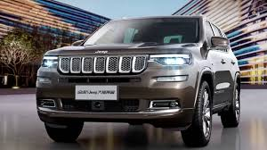 jeep grand wagoneer concept jeep grand commander to debut in china but the us will get a jeep