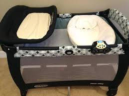 Playard With Changing Table Playpen With Bassinet And Changing Table Pack N Play Bassinet