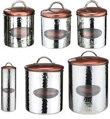 storage retro kitchen storage containers set of coffee tea sugar