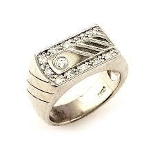 silver rings for men in grt mens silver designer ring