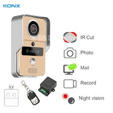 ip viewer android konx smart home 720 wifi ip door phone intercom doorbell