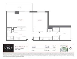 leisure village floor plans nine brickell 999 sw 1st avenue miami fl 33130