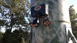 green light for hog hunting illuminator hog hunting feeder light youtube
