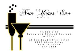 New Year S Eve Cocktail Party Decorations new year u0027s eve party invitations 2018