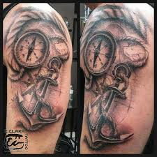 one piece compass tattoo collection of 25 truly awesome nautical compass tattoo