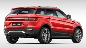 land wind vs land rover range rover evoque clone gets a facelift and new 1 5l turbo with