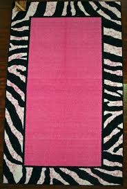 Zebra Area Rugs Pink And Black Zebra Area Rug Rug Designs