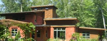 straw bale home in the minnesota woods greenbuildingadvisor com