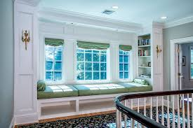 built in window seat built in window seat traditional staircase with window seat built