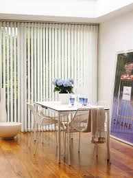 Basement Window Curtains - vertical white window blind with glass windows on white wall plus