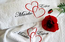 wedding gift towels the embroidery machine tryout tobethea