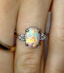 opal wedding ring awesome 52 stunning engagement rings wedding rings