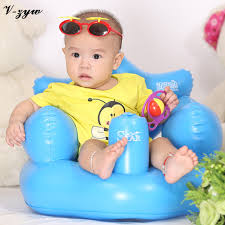 siege gonflable bébé siège de bain salle à manger chaise bébé canapé gonflable pvc
