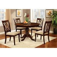 cherry finish wood queen anne style dining chairs