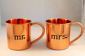 moscow mule mugs mr and mrs moscow mule copper mugs