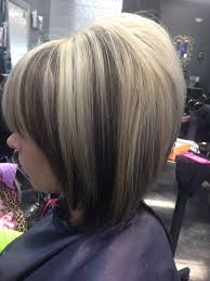 bolnde highlights and lowlights on bob haircut chunky highlights and lowlights dollhouse salon red bluff ca