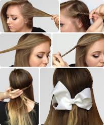 hair bows galore 6 easy hairstyles for finals week college fashion