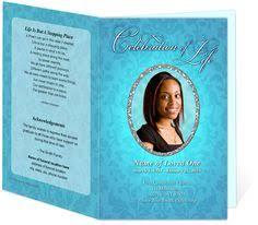 Funeral Program Maker Hawaiian Themed Funeral Service Bulletins Program Templates With