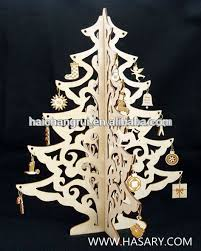3d wood tree table deco laser cutting service new